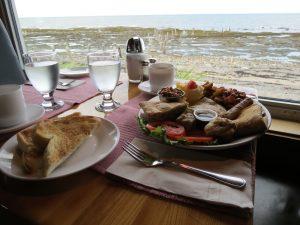 Restaurant, Centre d'Art Marcel Gagnon, Sainte-Flavie, Gaspésie