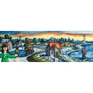 journée d'hiver féériqueguillaume_gagnon_artiste_peintre_quebecois