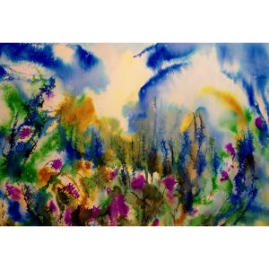 Matin sublime 22x30 #80603 aquarelle 955.00$