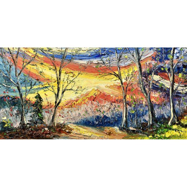 Guillaume Gagnon artiste peintre Gaspésie