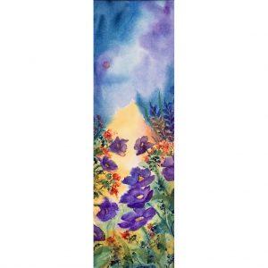 Beauté nature #110106 aquarelle 5x16 325.00$